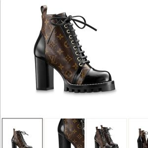 ISO LOUIS VUITTON STAR TRAIL BOOTS